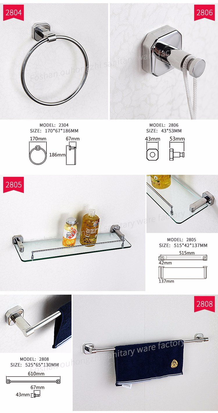Modern Design Stainless Steel 304 Bathroom Hardware Bathroom Accessory