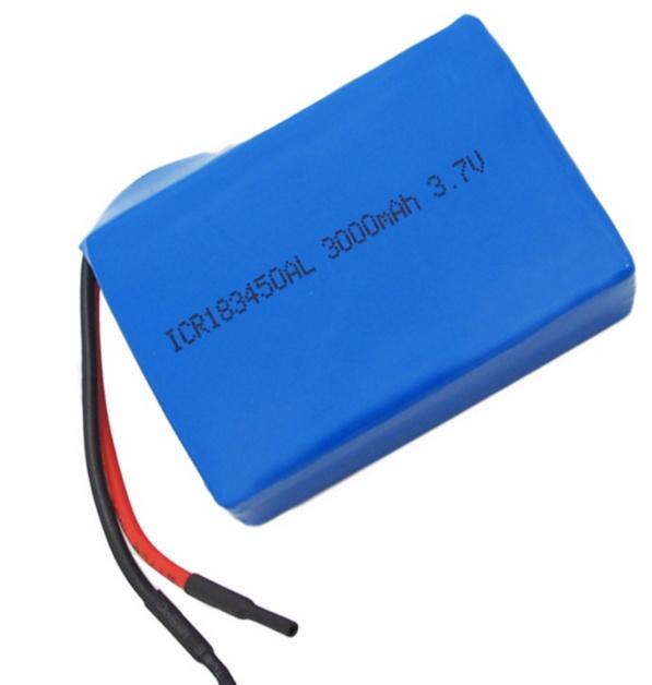 Li-ion Lithium Ion 183450 Li-Polymer Lithium Polymer 3.7V 3000mAh Battery for Power Tool