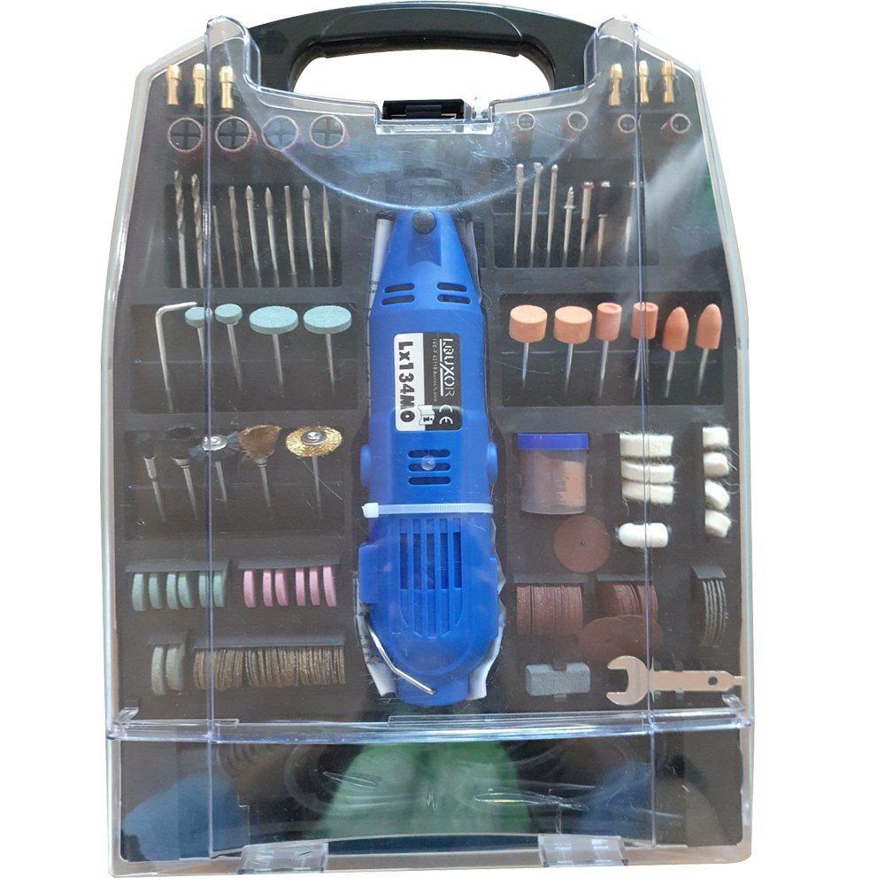 Variable Speed Dremel DIY Tool 234PC Die Grinder Kit