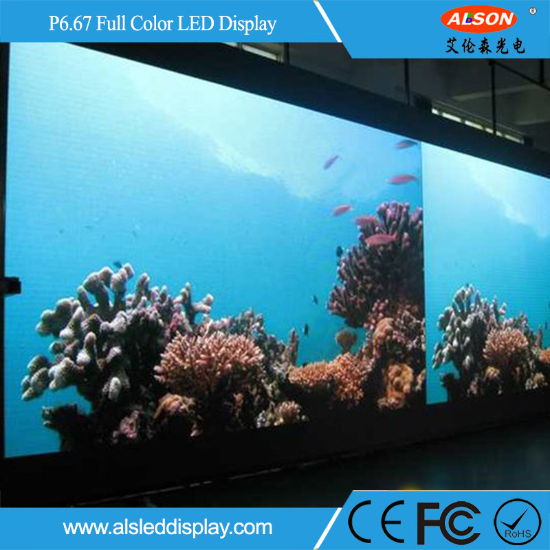 Outdoor P6.67 Fixed Full Color Screen LED TV