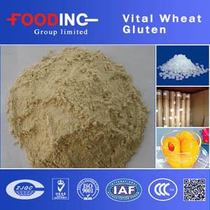 High Quality High Protein Organic Soluble Vital Wheat Gluten Bulk Manufacturer