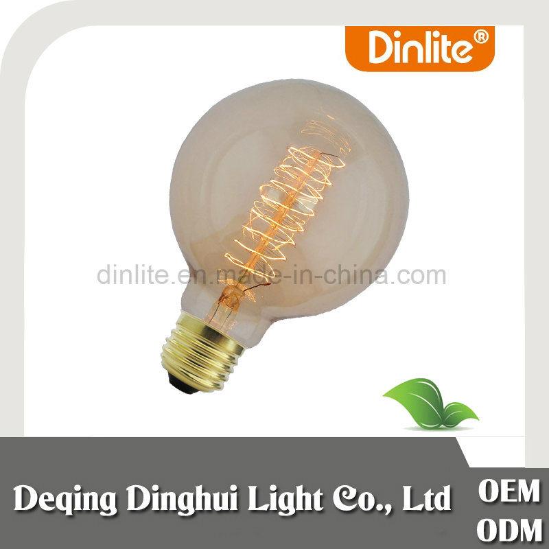 G80 Spiral Bulb 40W Retro Style Edison Light Bulbs