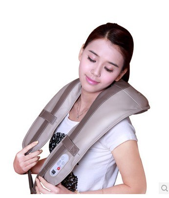 Electric Shiatsu Kneading Heating Neck and Shoulder Massager Belt