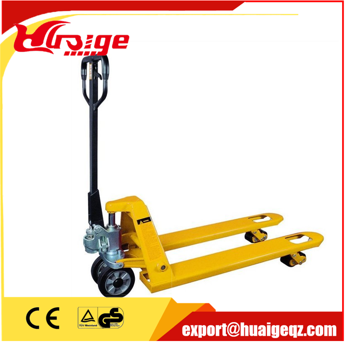 1500kg High Lift Hydraulic Hand Pallet Truck with Double Scissor
