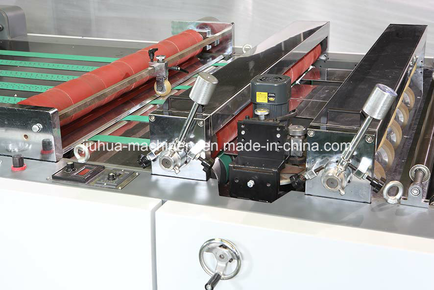 Lfm-Z108L Full Automatic Film Laminating Machine with Chain Knife