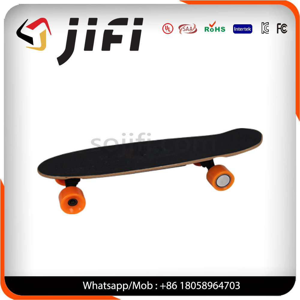 Jifi Maple Wood Longboard Electric Skateboard with Remote Control