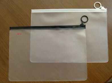 PVC Scrub Can Print Pattern File Bag