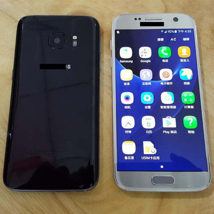Original Cell Phone S7 / S7 Edge, Unlock Genunine Mobile Phone