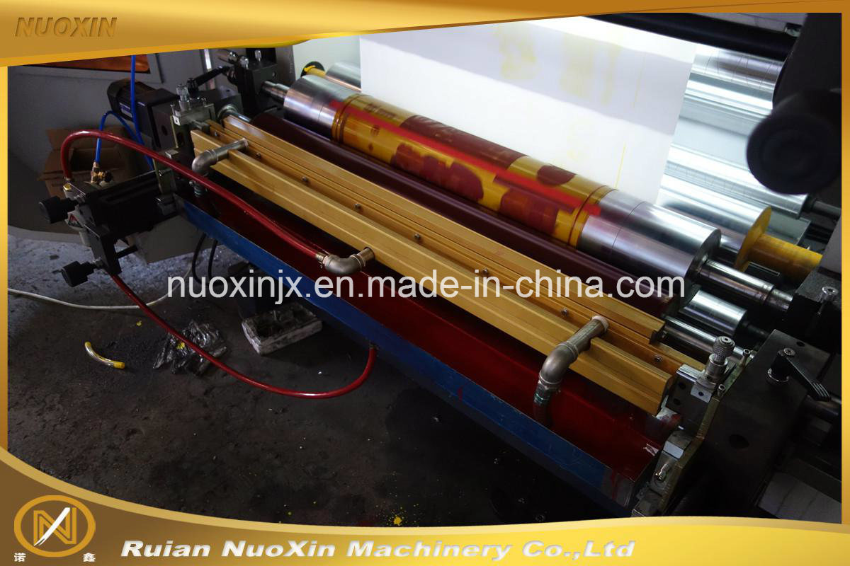 Nuoxin 4 Colour Plastic Film Flexography Printing Machine