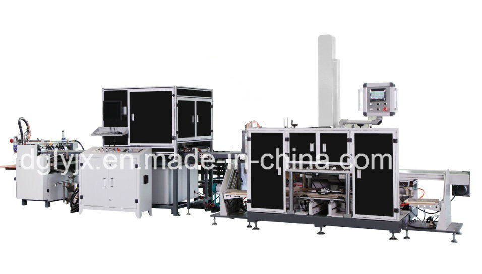 High Speed Packaging Machinery Fully Automatic Visual Positioning System Packaging Machine Phone, Cosmetic, Gift Box Making Machinery (with corner type)