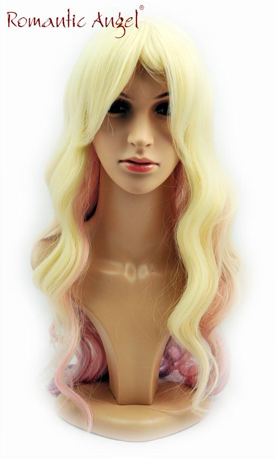 Halloween Wig Synthetic Courlful Fashion Women Wig