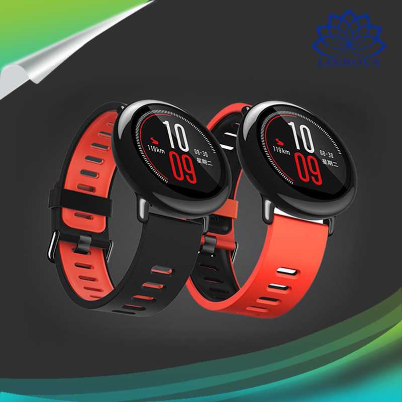 Amazfit Smart Sports Watch Zirconia Ceramics Sport Bluetooth Music Run IP67 Waterproof GPS Heart Rate Monitor for Xiaomi Huami Android Phones