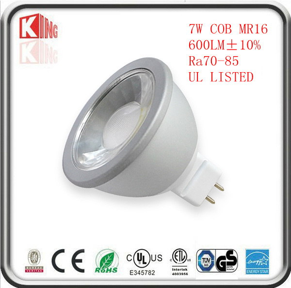 High Lumen COB AC DC 12V Dimmable LED MR16 Lamps Bulb