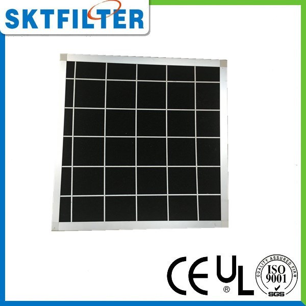 Carbon Foam Filter with Aluminum Frame