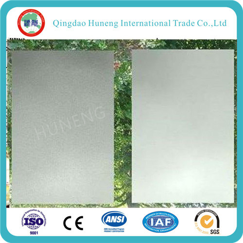 3-12mm Clear Acid Etched Glass for Decorative Purposes