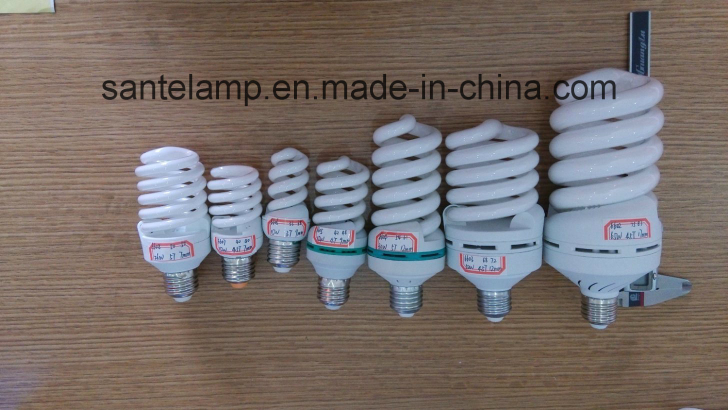 Energy Saving Lamp Full Spiral All Watta, 2700k-8000k, 220-240V