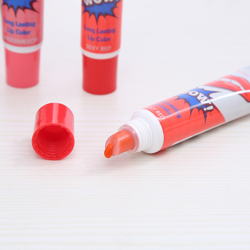 Bittb 6colors Beauty Lip Gloss Tattoo Moisturizer Long Lasting Lipstick Lipgloss Magic Color Liquid Red Lips Stick Makeup Tools