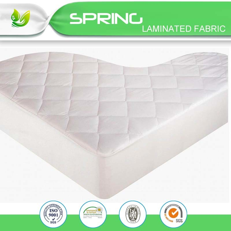 OEM 80% Cotton 20% Polyester Deep Pocket White Terry waterproof Mattress Cover