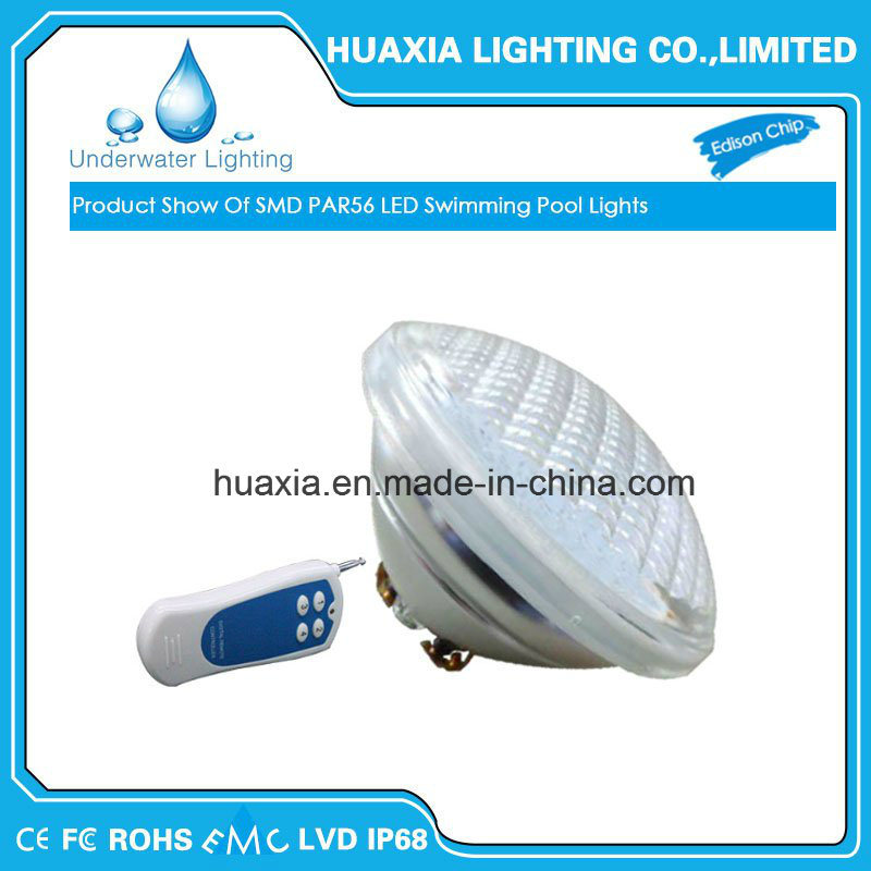 1800lm 24W PAR56 IP68 LED Swimming Pool Lamp
