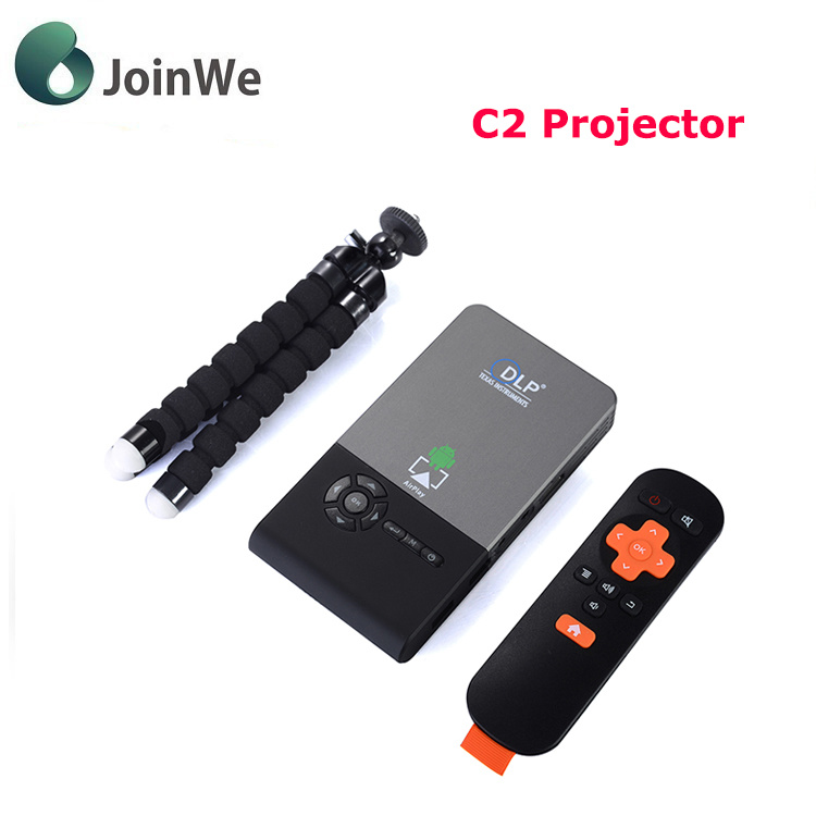 LED Projector C2 Distance1-5m WiFi Projector
