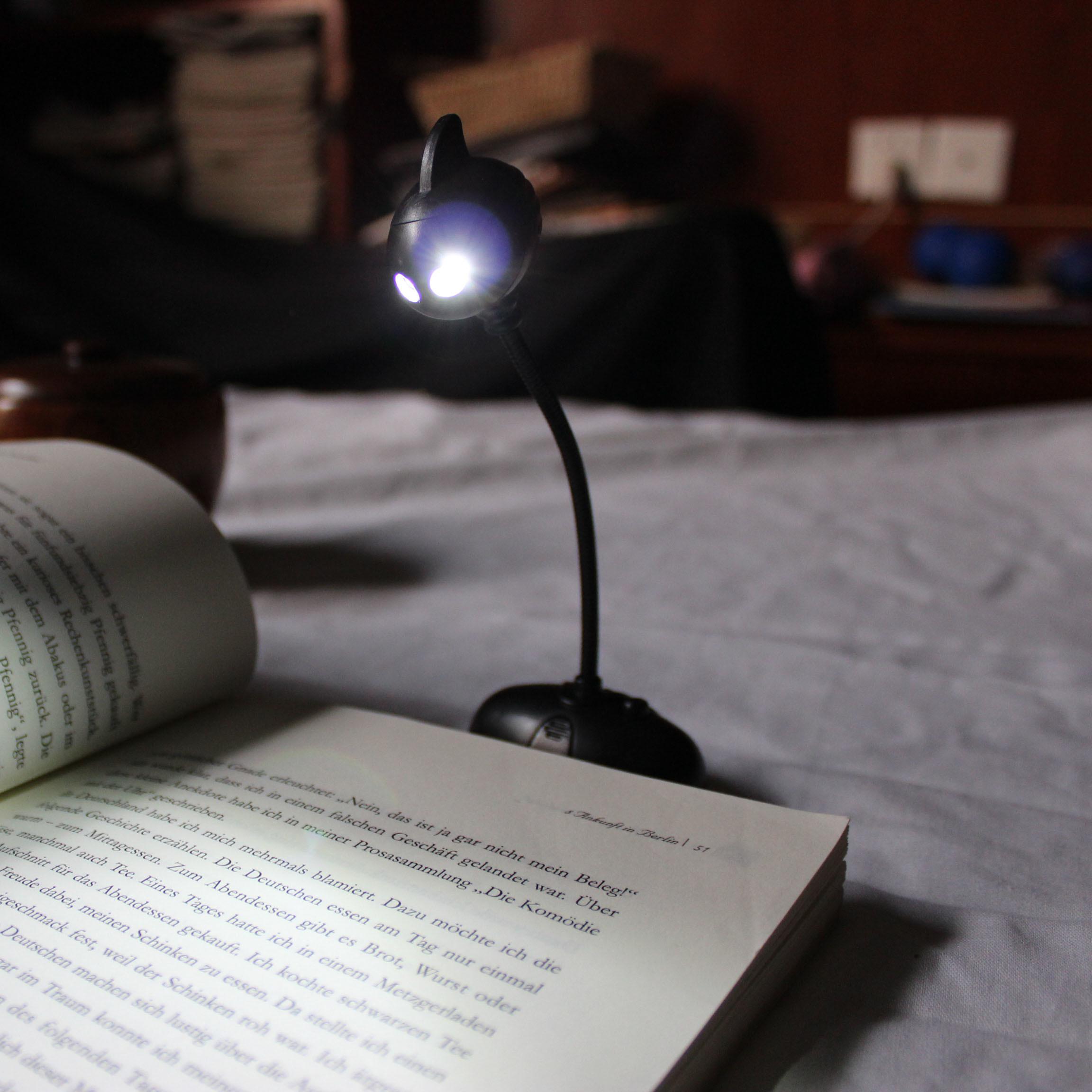 Flexible USB Night LED Lamp for Laptop Reading