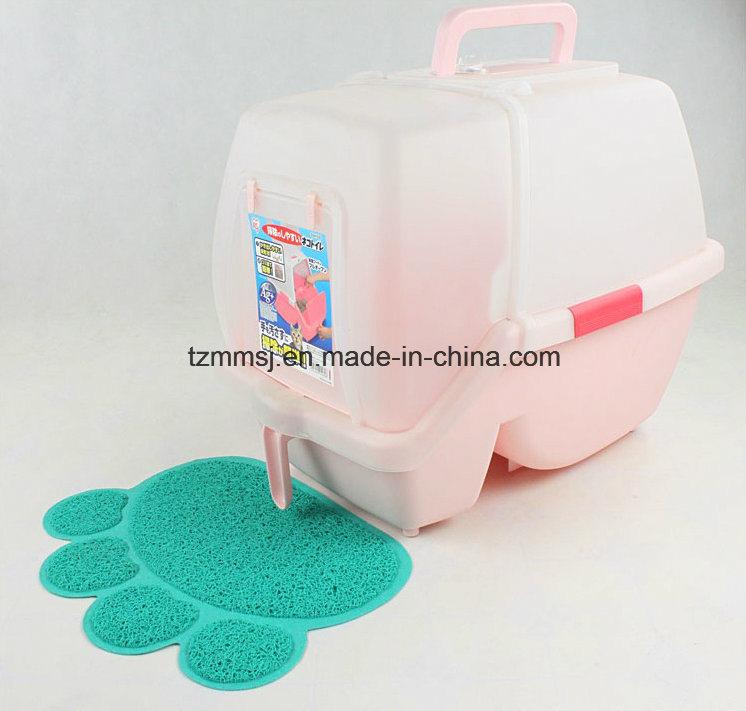 Pet Supply for Cat Litter Catcher Mat Pet Feeding Placemat