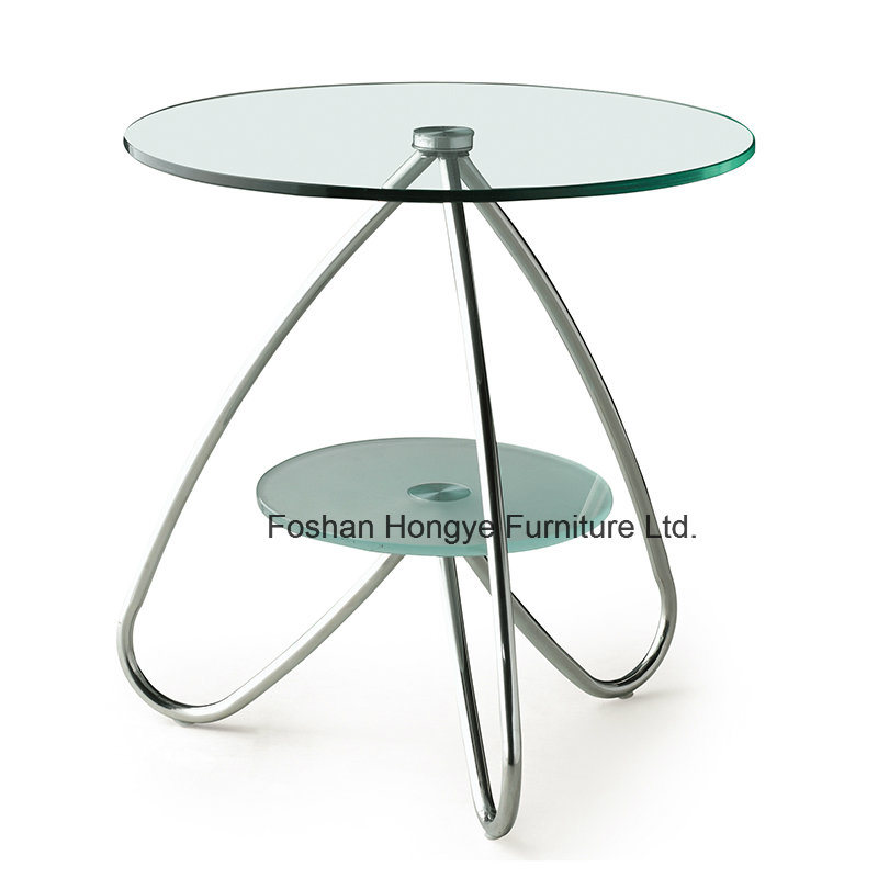Living Room Furniture New Design Glass Coffee Table (M025)