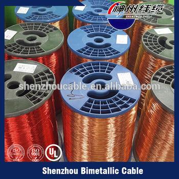 Enameled Copper Clad Aluminum Magnet Wire (ECCA WIRE)