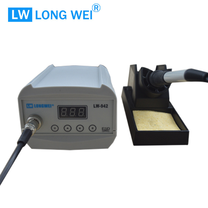 75W Lw942 LED Intelligent Lead-Free Soldering Station