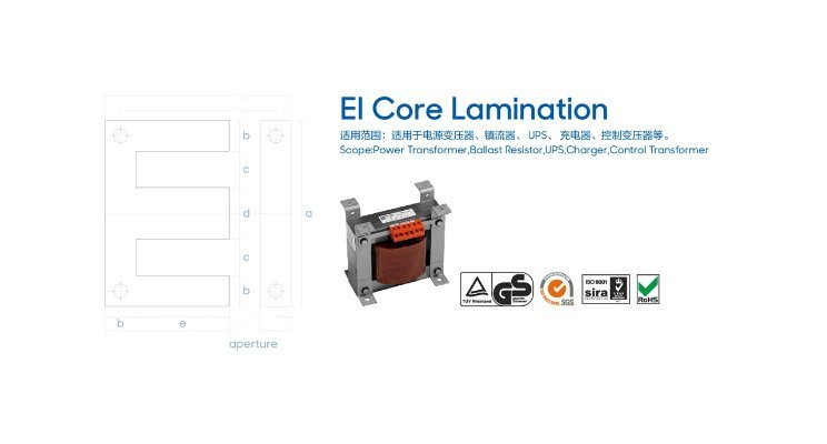 50W800 Silicon Steel CRGO Material Ei Ut Shape Lamination Core of Transformer