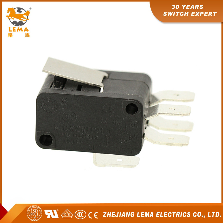 Lema Kw7-1II Short Lever CCC Ce UL VDE Double Micro Switch