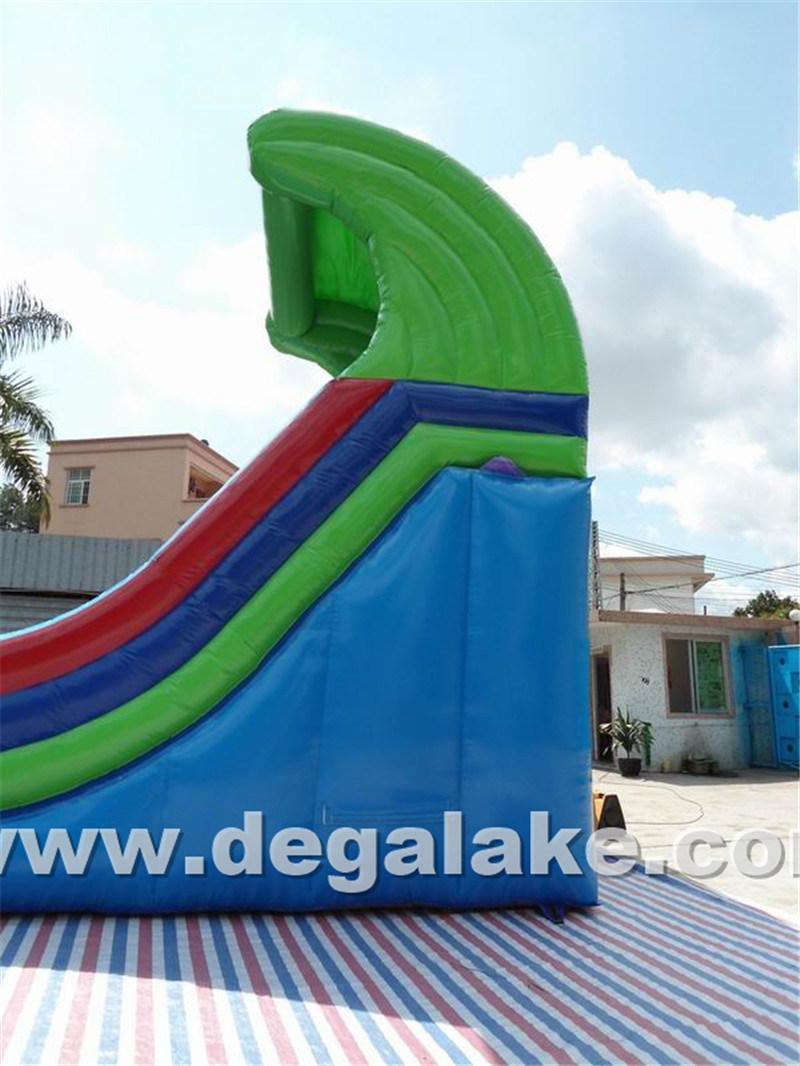 "Inflatable Half Pipe ""U"" Water Slide/ New Style Inflatable Slide"