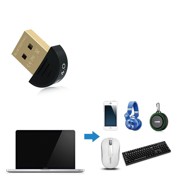 Wireless Mini USB V4.0 Bluetooth Adapter Receiver CSR 4.0 for Computer Bluetooth Speaker Headset Phone pictures & photos