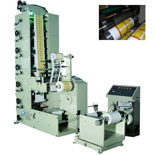 Automatic Flexo Printing Machine (RY-320-6C)