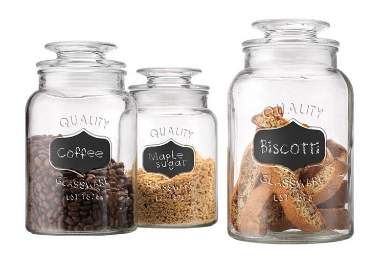 High Quality Glass Food Jar/Candy Jar/Storage Jar