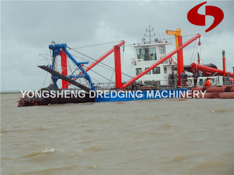 Submersible Sand Dredge Pump Boat (CSD 300)