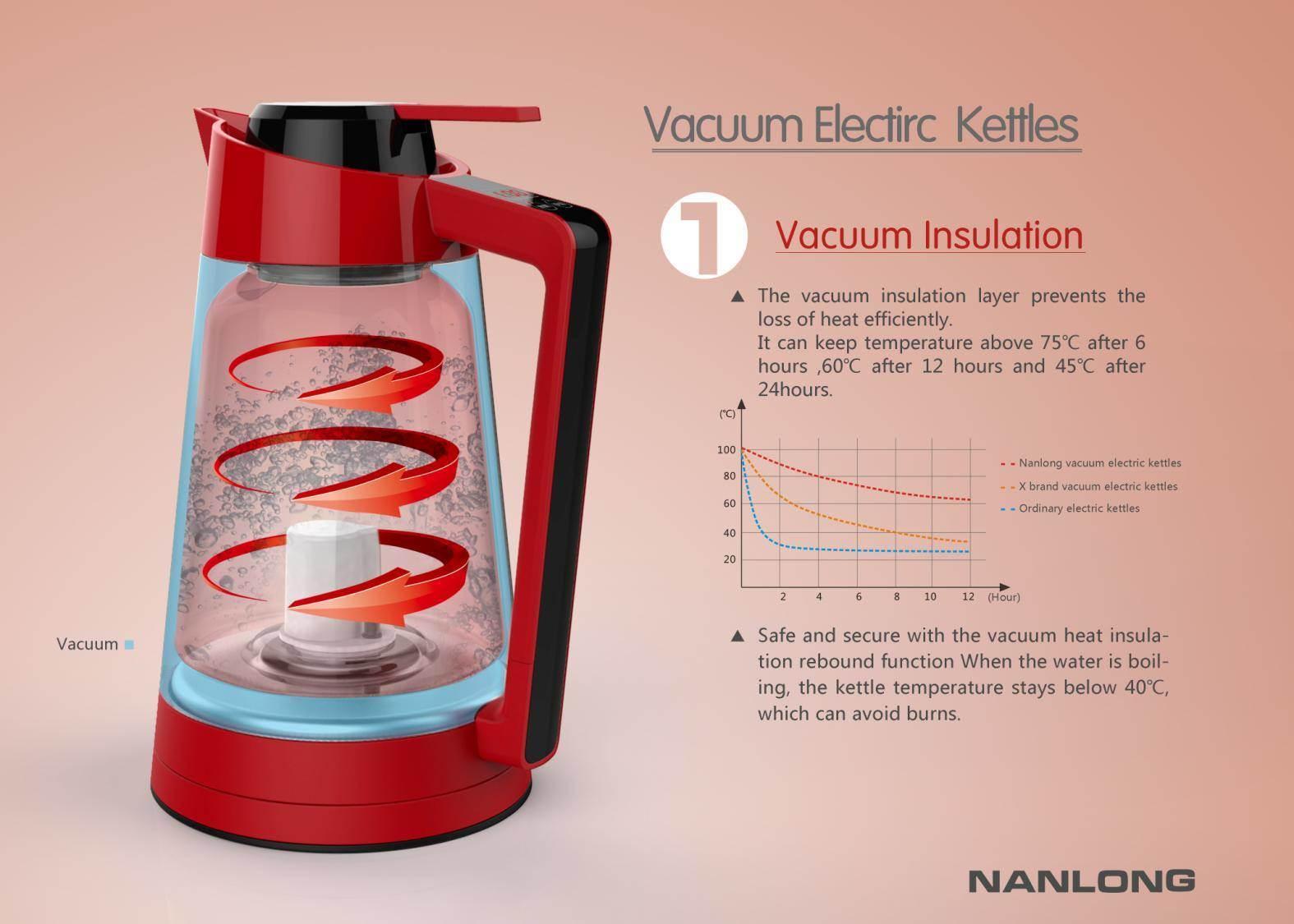 Vacuum Electric Kettle