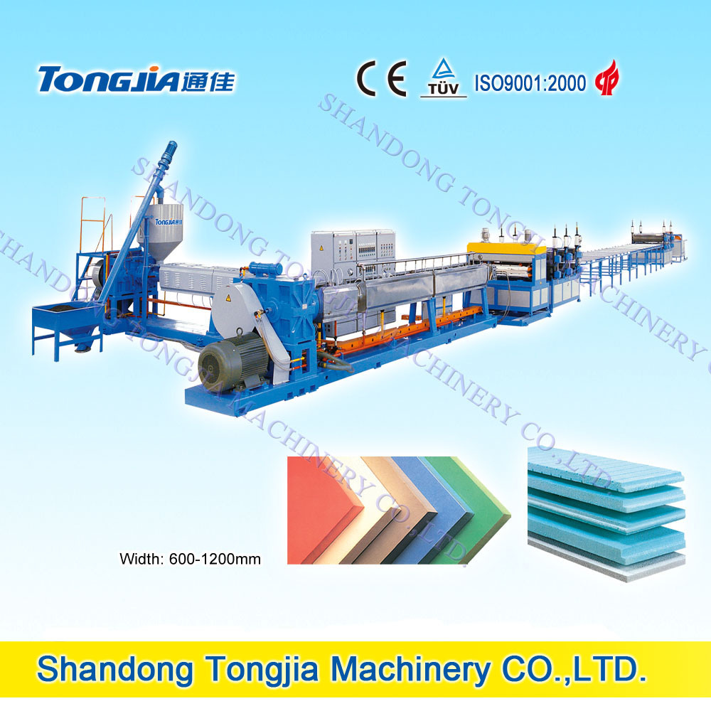CO2 and Freon XPS Heat Preservation Foaming Board Machine