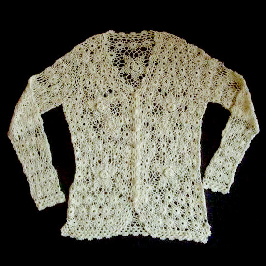 Hand Crochet : ... Hand-Crocheted Cardigan - China Hand Made Cardigan, Hand Crocheted