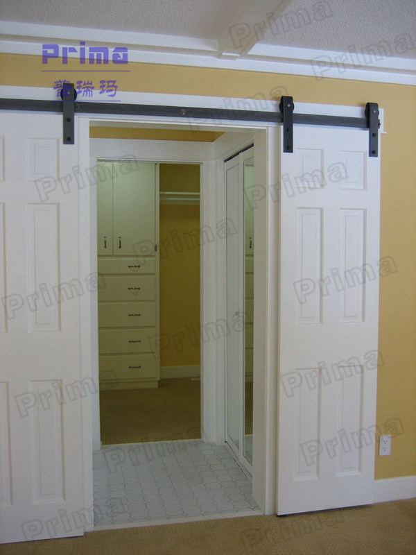 Modern Design Solid Wood Barn Door Hardware