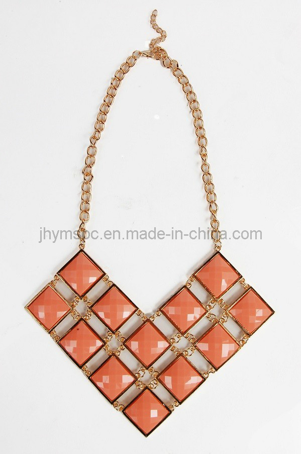 Wholsale Fashion Necklace Resin Necklace