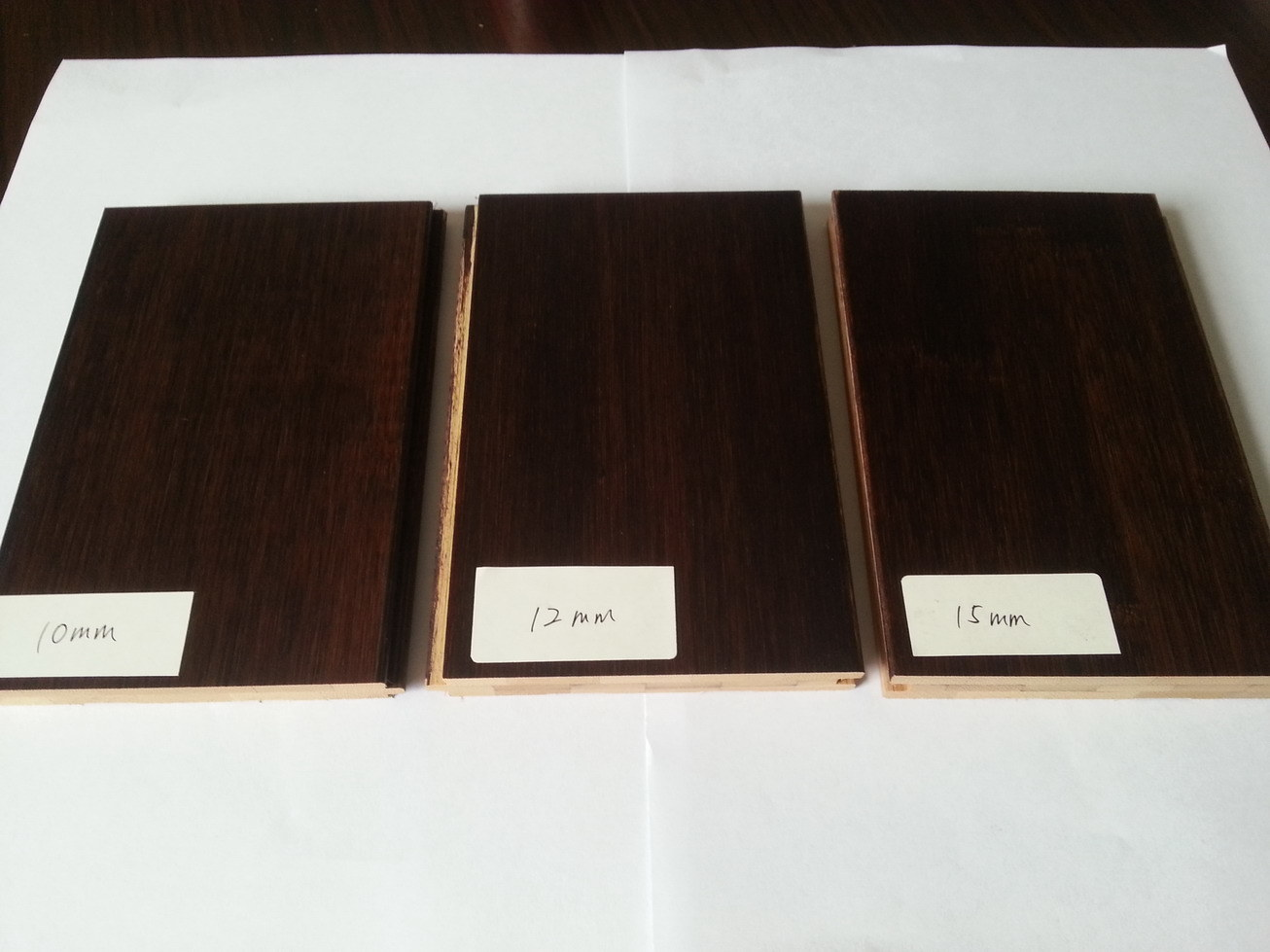 Stained Bamboo Flooring (Black Walnut or Chocolate)
