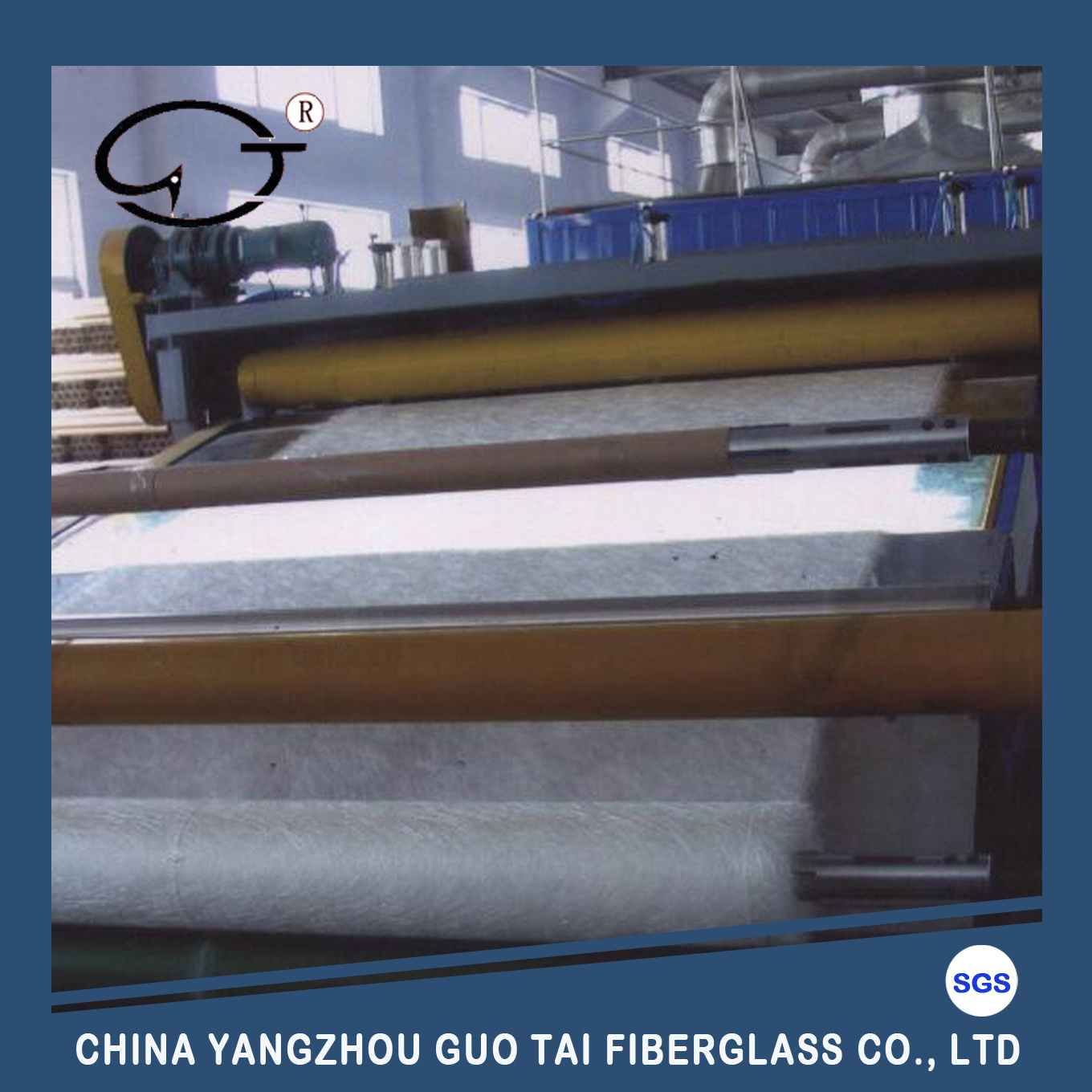E Glass / C Glass Fiberglass Chopped Strand Mat for FRP Products, Boat Building, Auto Parts