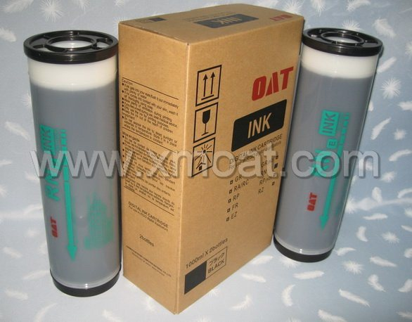 Compatible Rn a/E/U Ink for Use in Rn Digital Duplicator