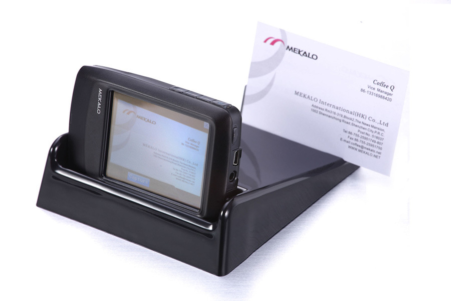 PDA Business Card Scanner 01 China Business Card