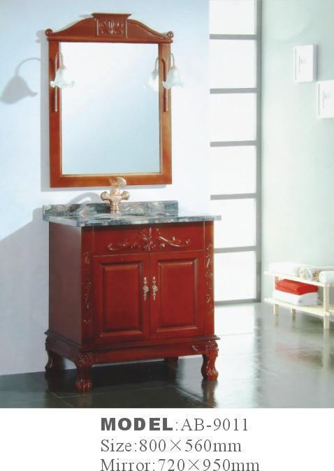 Antique Design Wooden Bathroom Vanity Ab 9011 China