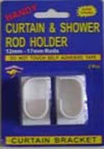 Shower Curtain Pole Holder Curtain Holders for Closet