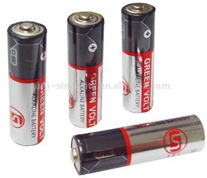 LR6 AA Size Alkaline Battery