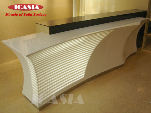 100% Acrylic Solid Surface Countertop - China Solid Surface Countertop ...