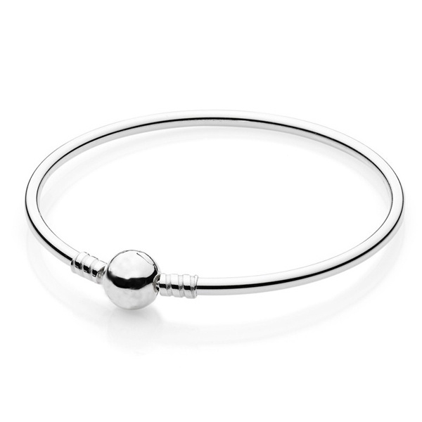 Sterling Silver Bangle Bracelet Silver Jewelry for Women